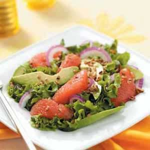 Sunny Grapefruit Avocado Salad Recipe