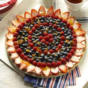 Summer Fruit Pizza Recipe