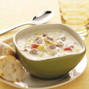 Farmhouse Ham Chowder Recipe