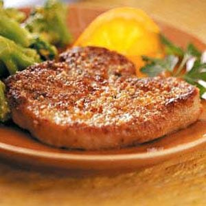 Crispy Herb-Coated Pork Chops Recipe