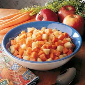 Carrot-Apple Side Dish Recipe
