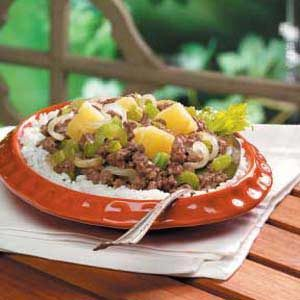 Hawaiian Beef Dish Recipe