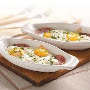 Eggs Lorraine
