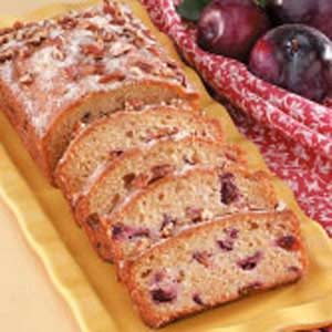Fresh Plum Quick Bread Recipe