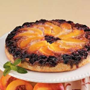 Cherry Nectarine Upside-Down Cake Recipe