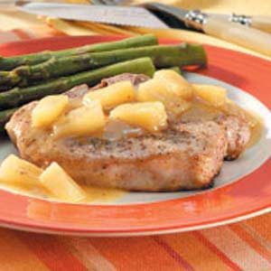 Pineapple Ginger Chops Recipe