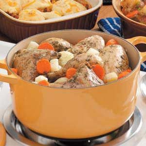 Vegetable and Chicken Stew Recipe