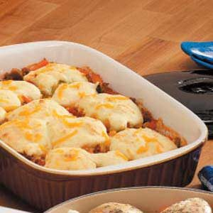 Ground Beef Biscuit Stew Recipe
