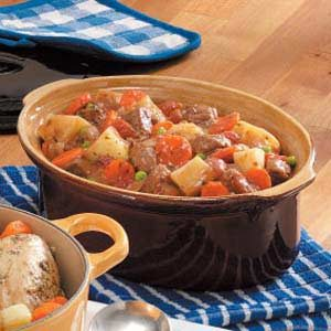 Winter Oven Beef Stew Recipe