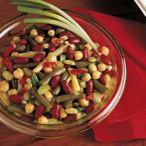 Garden Bean Salad Recipe