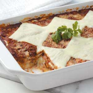Meatless Black Bean Lasagna Recipe
