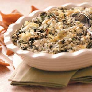 Makeover Spinach Artichoke Spread