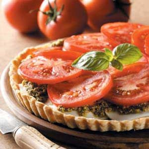 Fresh Tomato Tart Recipe