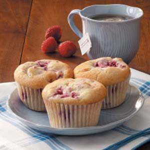 Walnut Raspberry Muffins Recipe