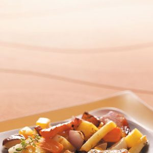Roasted Root Veggies Recipe