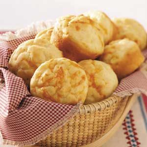 Cracked Pepper Cheddar Muffins Recipe