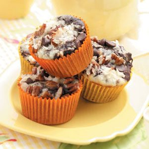 Coconut Chocolate Muffins Recipe