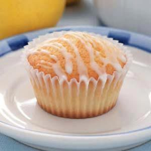 Lemon Pound Cake Muffins Recipe