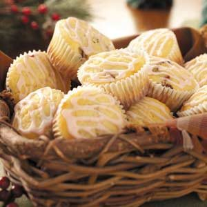 White Chocolate Cranberry Muffins Recipe