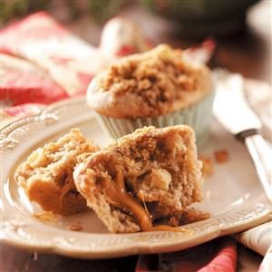 Caramel Apple Muffins Recipe