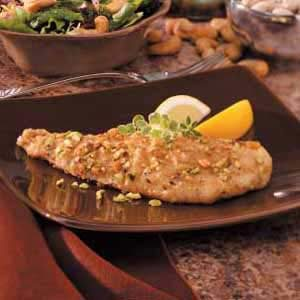Pistachio-Crusted Fried Fish Recipe