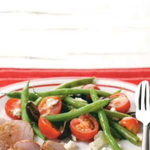 Tomato-Green Bean Salad Recipe