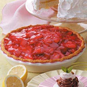 Strawberry Shortbread Pie Recipe
