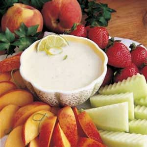 California Fresh Fruit Dip Recipe
