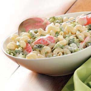 Flavorful Crab Pasta Salad Recipe