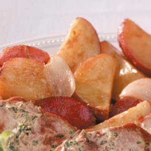 Light Rosemary Red Potatoes Recipe