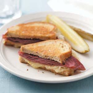 Reuben Grill Recipe