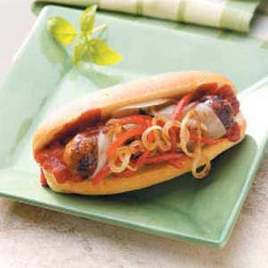Italian Sausage Subs Recipe