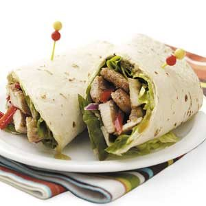 Jerk Chicken Wraps Recipe