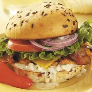Tangy Chicken Sandwiches Recipe