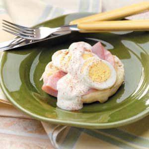 Ham 'n' Egg Muffins Recipe