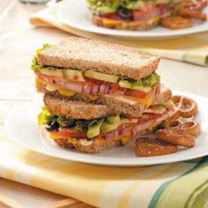 Hearty Veggie Sandwiches Recipe