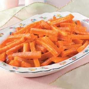 Sweet Candied Carrots Recipe photo by Taste of Home