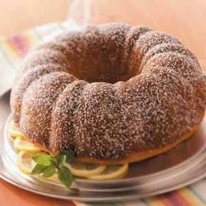 Makeover Sour Cream Coffee Cake Recipe