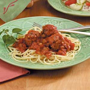 Spaghetti Sauce with Meatballs Recipe