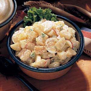 Garden Potato Salad Recipe