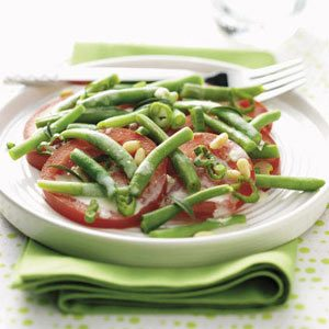Savory Bean & Tomato Salad Recipe