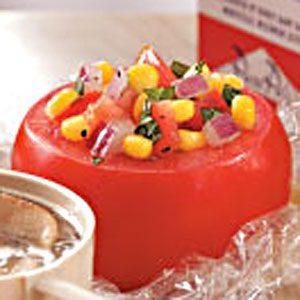 Corn Salad Stuffed Tomatoes Recipe