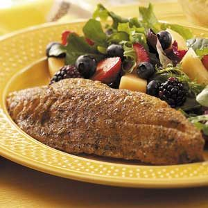Herb-Crusted Red Snapper Recipe