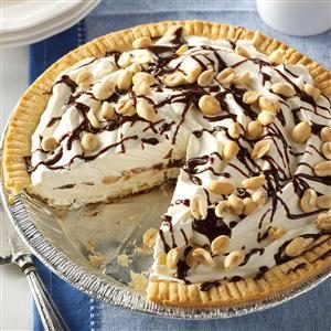 Frozen Peanut Parfait Pies Recipe