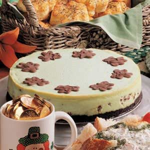 Luck o' the Irish Cheesecake