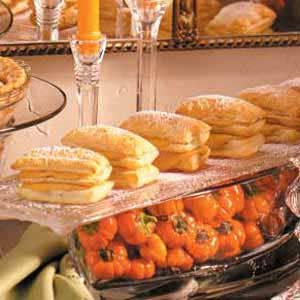 Pumpkin Napoleons Recipe