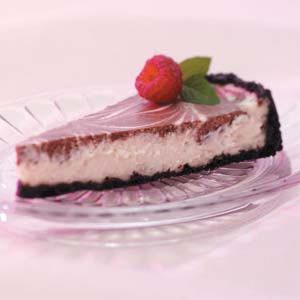 Chocolate Swirled Cheesecake Recipe