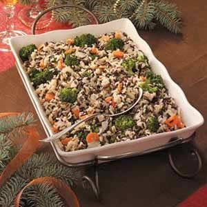 Wild Rice Pilaf Bake Recipe