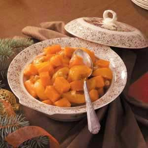 Cashew-Peach Sweet Potatoes Recipe