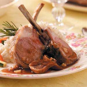 Rack of Lamb with Figs Recipe